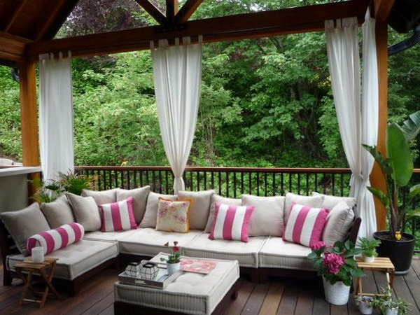 terrasse en bois douglas pour, terrasse en bois en kit jardin merlin